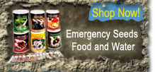 Emergency Food Storage and Water